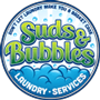 suds and bubbles laundry services logo